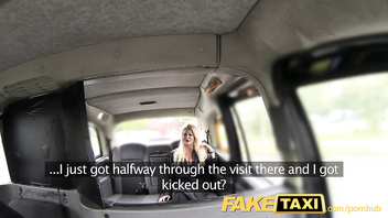FakeTaxi Dirty cock loving blonde with great tits