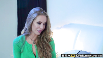 Brazzers - Pornstars Like it Big - The Stranger scene starring Nicole Aniston and Bill Bailey