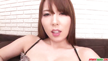 Sensual cock sucking special during toy porn with Yui Hatano - More at Japanesemamas com