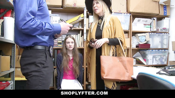 ShopLyfter - Granddaughter And Grandmother Get Caught Shoplifting