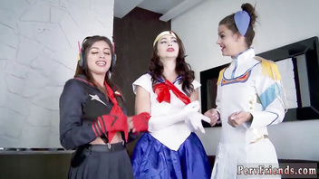 Anal sex with chums dad and fuck by fathers Cosplay Queens
