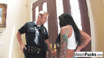 Mason Moore gets fucked by a cop