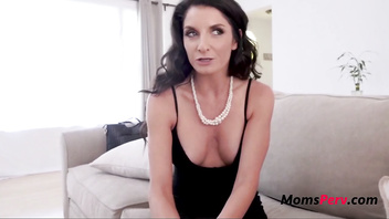 Blackmailed MOM fucks her SON-Silvia Sage