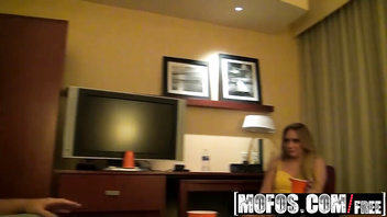 Real Slut Party - (AJ Applegate, Candi Coxx, Esperenza Diaz) - Hotel Room Gangbang - MOFOS