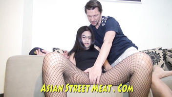 Short Sighted Asian Sod Girl Likes Long Dicked Tourist