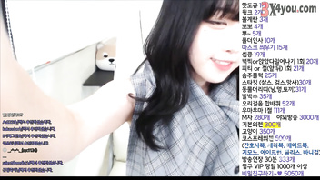Korean BJ ! Beautiful Girl Very Cute ! Livestream show webcam ! 021019