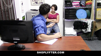 ShopLyfter - Perky Titty Teen Gets Fondled And Fucked By Security
