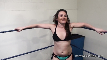 Samantha Grace vs Devon Topless Female Wrestling