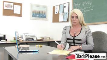 Miss Staxxx gets an interracial after school special