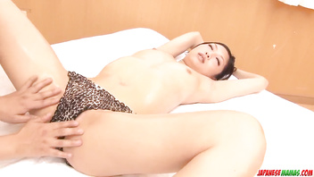 Supreme Maki Takei nudity and sex during massage - More at Japanesemamas com