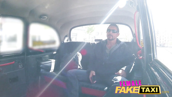 Female Fake Taxi Legend Tommy Gunn sucked and fucked