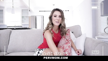 PervMom - Dating App Cougar Desperate For Young Cock