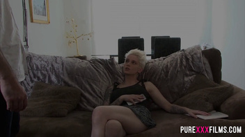 Dutch Blonde Stepmom Loves Young Cock Mila Milan. Full version on PureXXX Films