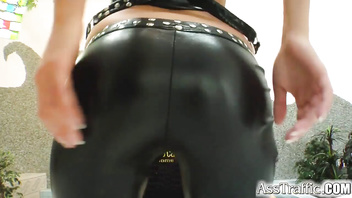 Ass Traffic Blonde squirts it up as her ass is pounded