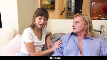 FILF - Taking Care Of His Needs With Riley Reid