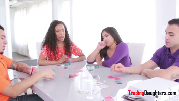 DAUGHTERS gamble & lose virginity to DADS- Demi Sutra & Julz Gotti