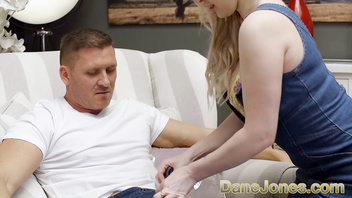 Dane Jones Big natural tits Brit Georgie Lyall fucked by a chunky cock