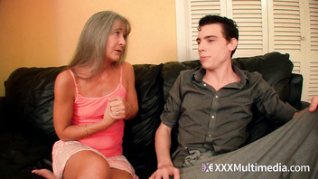 Desperate Step Mom and Sister Fifi Foxx Fuck Brother for Cash