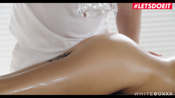 LETSDOEIT - Busty Beauty Liya Silver Spreads Her Tight Ass At Massage