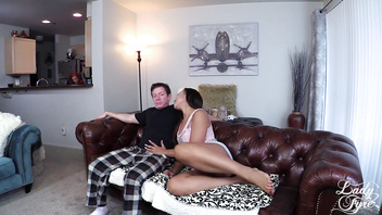 Step UNCLE FUCKER! Adriana Maya fucks older man. Interracial Taboo