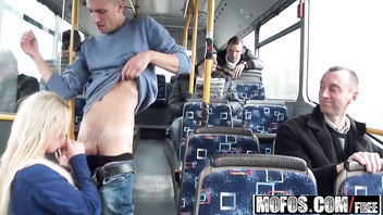 Mofos - Mofos B Sides - (Lindsey Olsen) - Ass-Fucked on the Public Bus