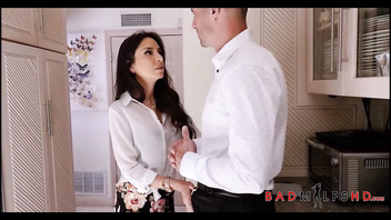 Young Teen Step Daughter Aria Lee Pleasured To Orgasm By MILF Step Mom Trinity St. Claire After Seeing Her With Client