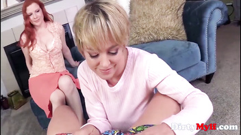 MILFS Do Their Dirty Lil Work On Teen Boy- Lady Fyre, Dee Williams