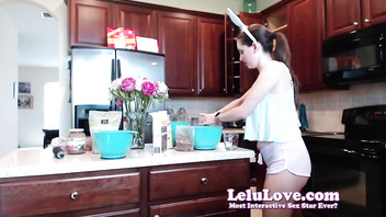 Lelu Love-WEBCAM: MasturBAKING Cupcakes With Vibrator Fun - WatchPornCams.com