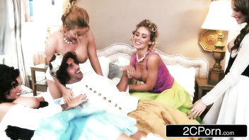 Independence Day Orgy: Jenna Presley, Juelz Ventura, Krissy Lynn, Nicole Aniston