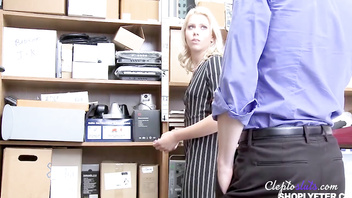 Force Fucked Teen for STEALING- Chanel Grey