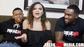 Lil D, Rome Major, and Naudi Nala Interview before having a Threesome