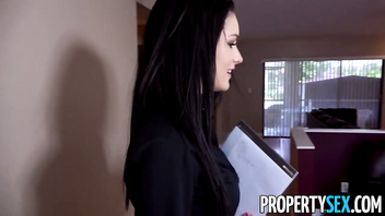 PropertySex - Careless real estate agent fucks boss to keep her job