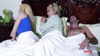 Slumber Fuck With My Girlfriend's Busty Blonde MOM- Maxim Law, Darcie Bell