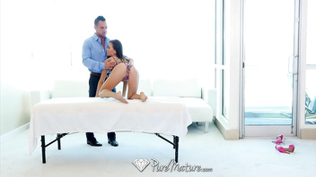 PureMature - Mature asian Kalina Ryu has amazing massage skills