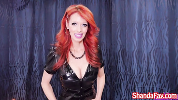 Kinky Milf Shanda Fay gets Hired for a Pegging!