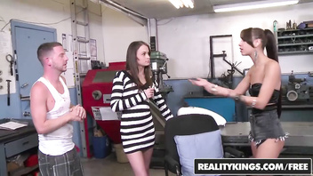 RealityKings - Money Talks - (Esmi Lee, Kaci Lynn, Tony Rubino) - Legs Up