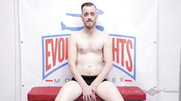 Stephie Staar battles in nude wrestling fight at Evolved Fights