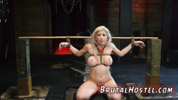 Bondage couch and slave girl licks pussy Big-breasted towheaded hotty