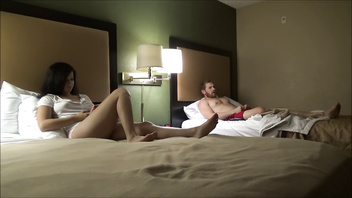 Brother & Step Sister Spend The Night Together -Annika Eve- Family Therapy