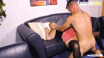 AmateurEuro - German Amateur Wife Seduces and Fucks Delivery Boy