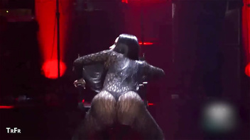 Nicki minaj dances in her thongs and bikinis so you can jackoff to her body