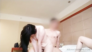(asian, chinese) threesome sex at tianjin brothel exposed