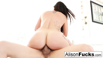 Sexy alison tyler takes on massive dick from bruce venture