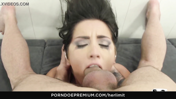 Her limit - wild hard anal for seductive hungarian brunette babe loren minardi