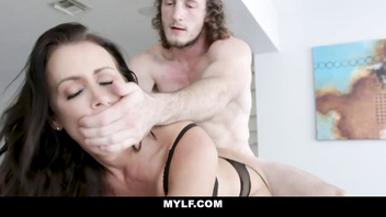 Mylf - mom foxx spreads her pussy lips for attention from her step son