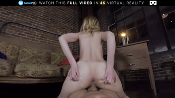 Badoinkvr.com break up sex with petite blonde alexa grace