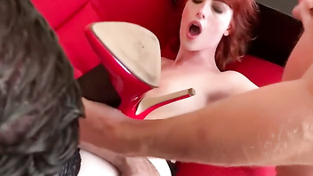 Alex harper, young american girl fucked in paris in all the holes
