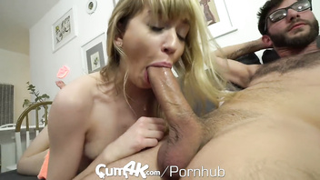 Cum4k step bro pumps multiple creampie loads into step sis