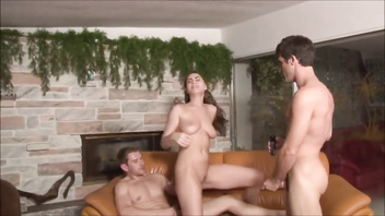 Stepfather and stepson fuck hot stepsister - molly jane - family therapy