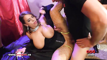 German Mom with Big Tits loves Anal and Cum - German Goo Girls